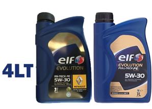 OLIO ELF EVOLUTION RN TECH FE 5W30 4L